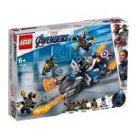 LEGO Marvel Avengers Movie Captain America: Ataque de Outriders - 76123