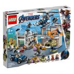 LEGO Marvel Avengers Movie 4 - O Combate no Quartel dos Vingadores - 76131