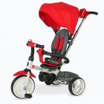 Coccolle Triciclo Pegable Urbio Red