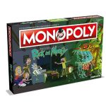 Monopoly: Rick And Morty Jogo de Tabuleiro