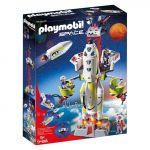 Playmobil Space - Foguete com Plataforma de Lançamento - 9488