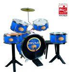 Reig Musicales Bateria Golden Drums - Azul - 727
