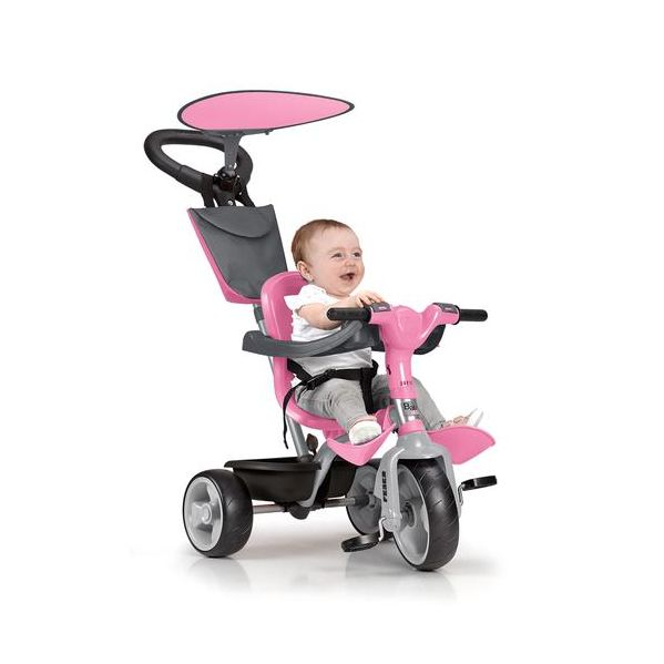Feber Triciclo Baby Plus Music Rosa