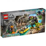 LEGO Jurassic World: T. Rex vs. Dinossauro Robótico - 75938