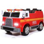 Camião Eléctrico de Bombeiros 12V Vermelho