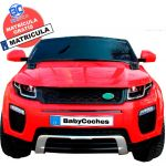 Babycoches Carro Elétrico de Batería Ranger Rapid 12V Red
