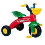 Injusa Triciclo Baby Trico com Cesta Vermelho/Amarelo/Azul