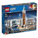 LEGO City - Foguete de Espaço Intersideral e Controle de Lançamento - 60228