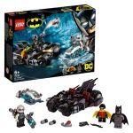 LEGO Super Heroes DC Comics - Batalha de Mr. Freeze contra Batciclo - 76118