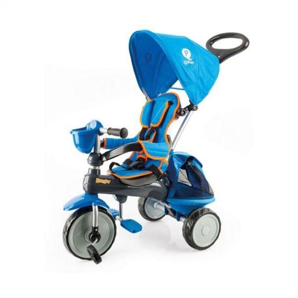 QPlay Triciclo Evolutivo Ranger Azul