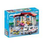 Playmobil - Clínica com Veículo de Emergência - 5012