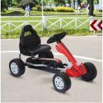 Homcom Kart com Pedais corrida C/ Assento Ajustável 3-8 Anos - M3229