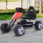 Homcom Kart com Pedais corrida C/ Assento Ajustável 3-8 Anos - M3230