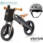Kinderkraft Bicicleta Runner Vintage Black Helmet