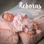 Arias Reborns Rosa 45 cm - AR98003
