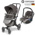 Concord Conjunto Duo Neo + Air Safe Moonshine Grey