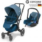 Concord Conjunto Duo Neo + Air Safe Peacock Blue