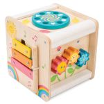 Le Toy Van Cubo de Atividades em Madeira - PL105