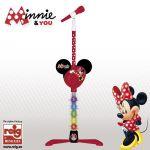 Reig Musicales Microfone de Pé Minnie - CRE5253