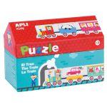 Apli Puzzle Casinha Comboio 20U - 16485