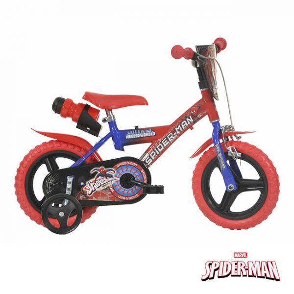 Dino Bikes Bicicleta Spider-Man Webbed Wonder 12 - UV123GL-SPH