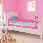 Barra Segurança para Cama Criança 2 Pcs 150x42 cm - 276086