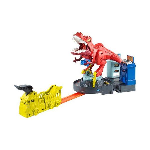 Mattel Hot Wheels City T-Rex Rampage - MATGFH88