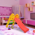 HomCom Escorrega para Crianças Multicolor Plástico Carga máxima: 60 kg 110 x 54 x 70 cm
