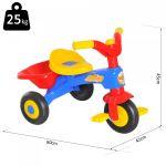 HomCom Triciclo para Crianças 18-36 Meses