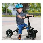 Triciclo para Crianças 18 Meses Preto Ferro, Plástico e Tela- 74 X 49 X 55 cm