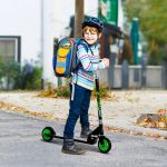 HM Trotinete para Crianças 50kg Verde 70x34x70-84cm