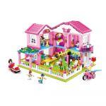 Sluban Girls Dream Casa de Férias 896 Pcs - SL0721