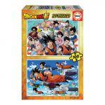 Educa Puzzle 2x100 Peças Dragon Ball - A29686506
