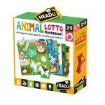 Headu Puzzle Montessori Animal Loto