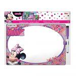 Disney Quadro Branco C/ Marcador Apagador 29x20 Minnie - DIK561956