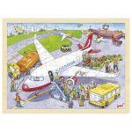 Goki Puzzle Infantil 96 Peças Madeira - 57669