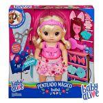 Hasbro Baby Alive - Penteados Mágicos