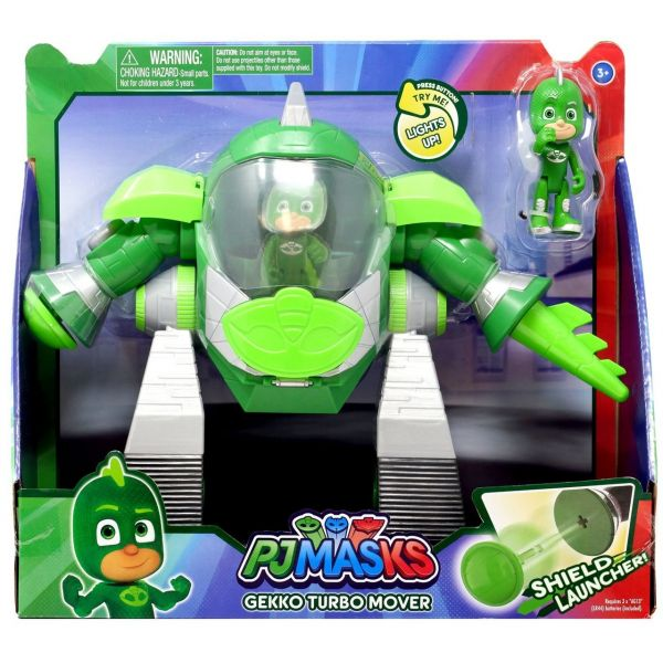Bandai PJ Masks Gekko - Robô Turbo Movers