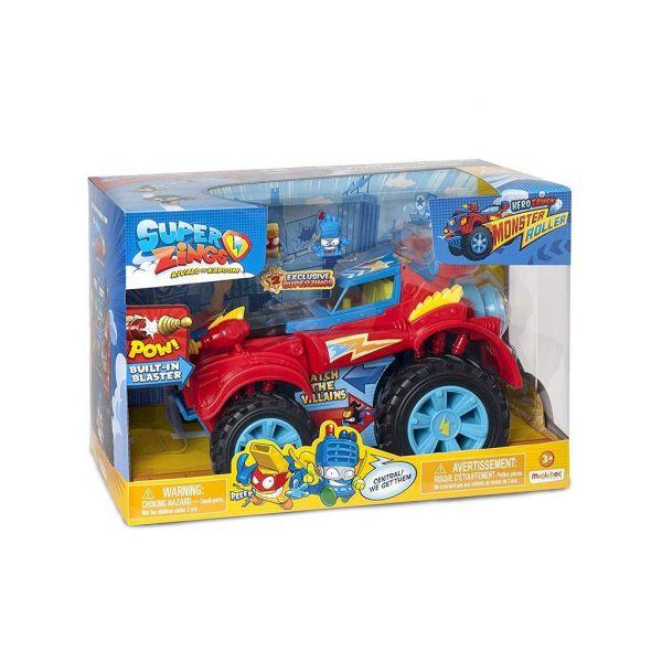 Superzings Monster Roller Truck dos Heróis - 8431618009680