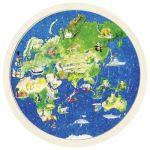 Goki Puzzle de Madeira o Mundo - 57666