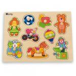 Andreu Toys Puzzle de Madeira Brinquedos - 16454