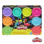 Play-Doh Pack 8 Potes Neon - HASE504