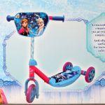 Disney Trotinete Frozen com 3 Rodas