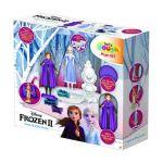 Frozen - Veste a Anna e a Elsa com Plasticina Frozen 2