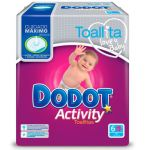 Dodot Toalhitas Activity 324 un.