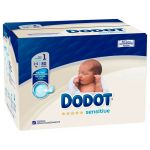 Dodot Fraldas Sensitive T1 (2-5kg) 80 un.