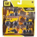 Caterpillar Pack 5 Mini Máquinas Construção Artic. Cat - CAT-82150