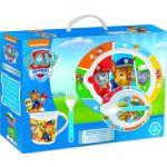 Nickelodeon Conjunto refeição Microondas 5 peças da Patrulha Pata 8412497308798