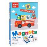 APLI Jogo Magnetico Tema Carros 25un - APL16863