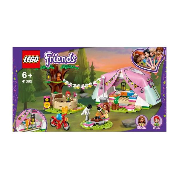 LEGO Heartlake - Glamping em Plena Natureza - 41392